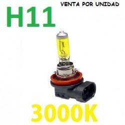 BOMBILLA HALOGENA H11 3000K