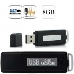 PENDRIVE ESPIA VOZ 8GB 150Horas