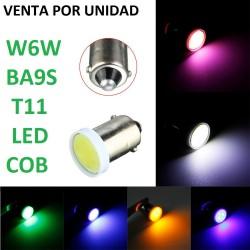 T11 BA9S W6W LED COB
