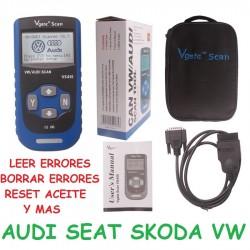 MAQUINA ESPECIFICA DE DIAGNOSIS PARA AUDI SEAT SKODA Y VW
