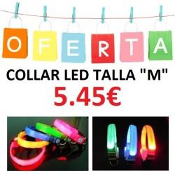 COLLAR LED TALLA M