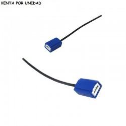 CONECTOR CERAMICO DE RECAMBIO BOMBILLA H1 y H3 ESTANDARD
