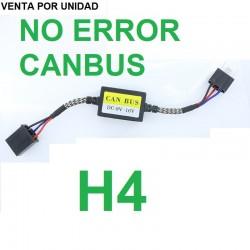 CANCELADOR CANBUS H4 9003 HB2 LED RESISTENCIA