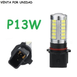 BOMBILLA LED P13W LUZ DE DIA Y ANTI NIEBLA