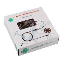 Endoscopio Camara 5 Metros 5M Android y PC Micro USB Inspección Tubos