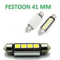 BOMBILLA LED FESTOON CANBUS 41 MM 4 SMD LED